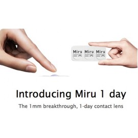 MIRU 1-DAY contact lenses Edinburgh