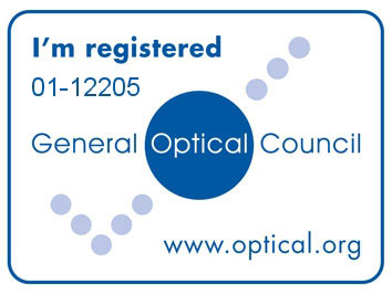 Registered with the General Optical Council
